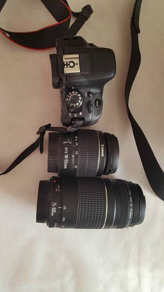 Canon camera.