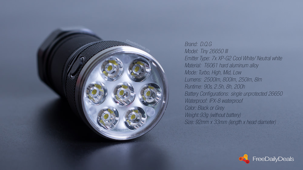 New LED flashlights for sale - various