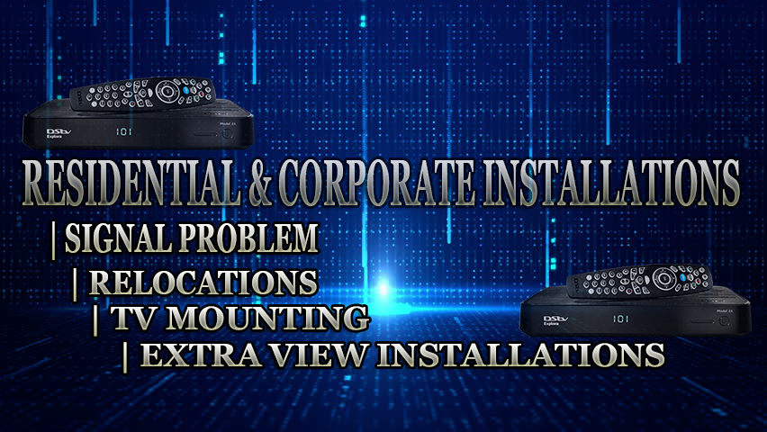 Fast reliable DStv installers