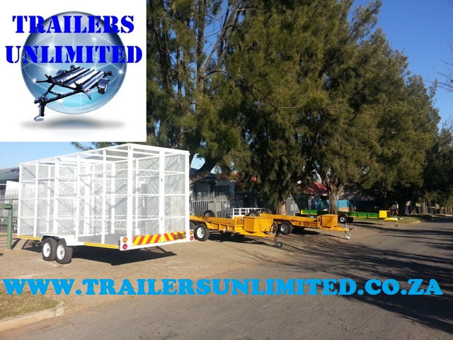 Utility Recycling Trailer 5500 x 2000 x 2400