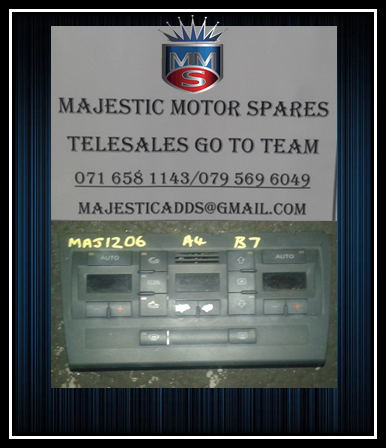 AUDI A4 USED B7 CLIMATE CONTROL UNIT FOR SALE