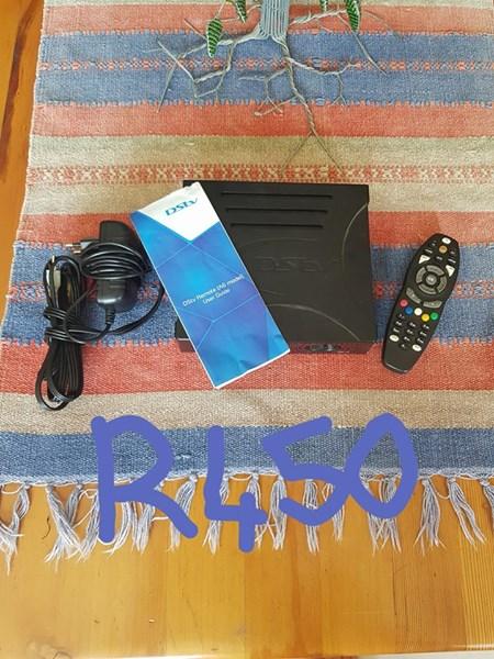 Dstv decoder and remote