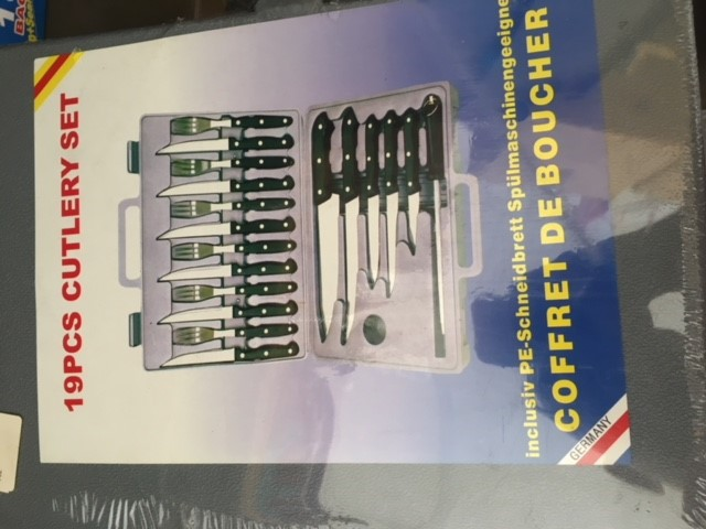 19pc German Cutlery Set - New