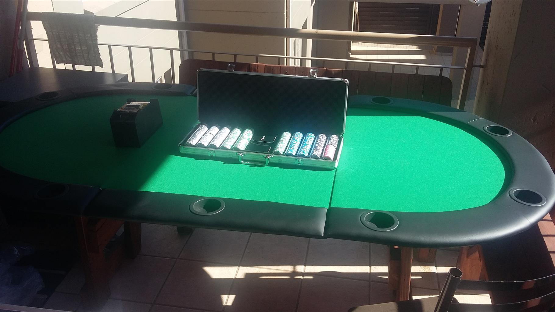 Full poker set for 8