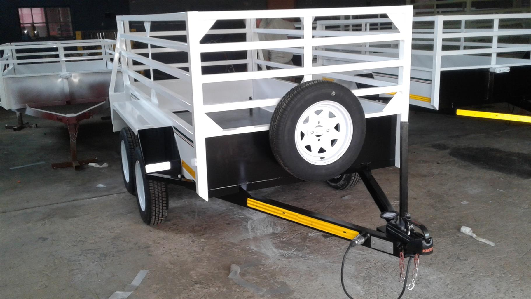 2.4M DOUBLE AXLE UTILITY TRAILER WITH BRAKES FOR SALE ON ORDER ONLY