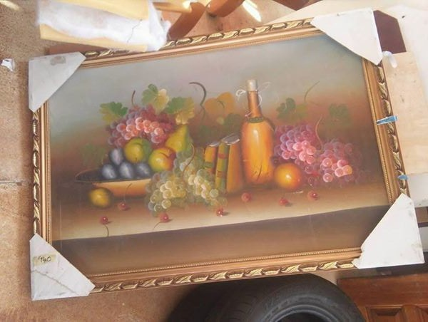 Kitchen fruit painting
