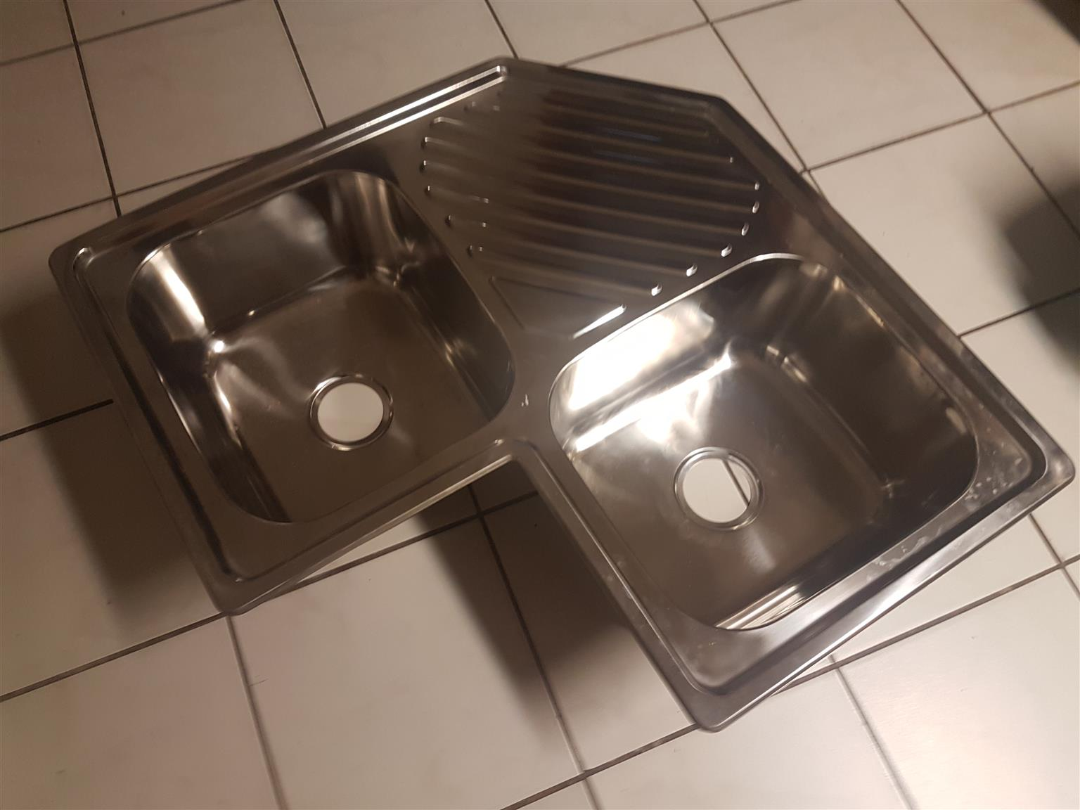 Stainless Steel Corner Sink Junk Mail