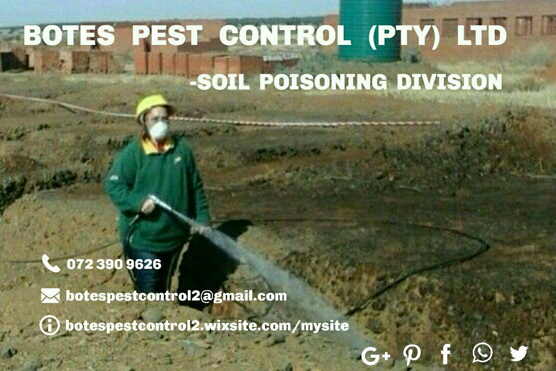 East Rand Soil Poisoning Treatments - 072 390 9626 - Soil Poisoning