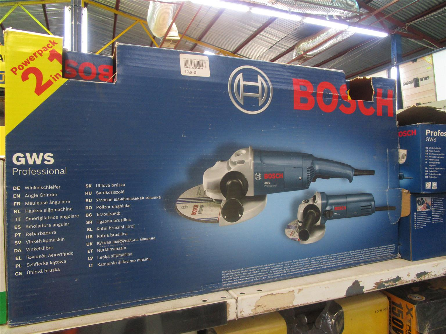 Bosch Grinding Machine