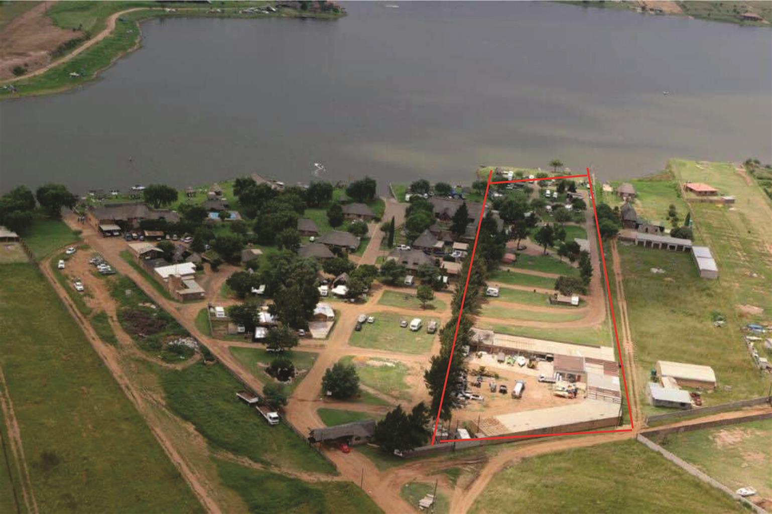 WATERFRONT STAND FOR SALE - WITBANK NAAUWPOORT 359, Business Opportunity