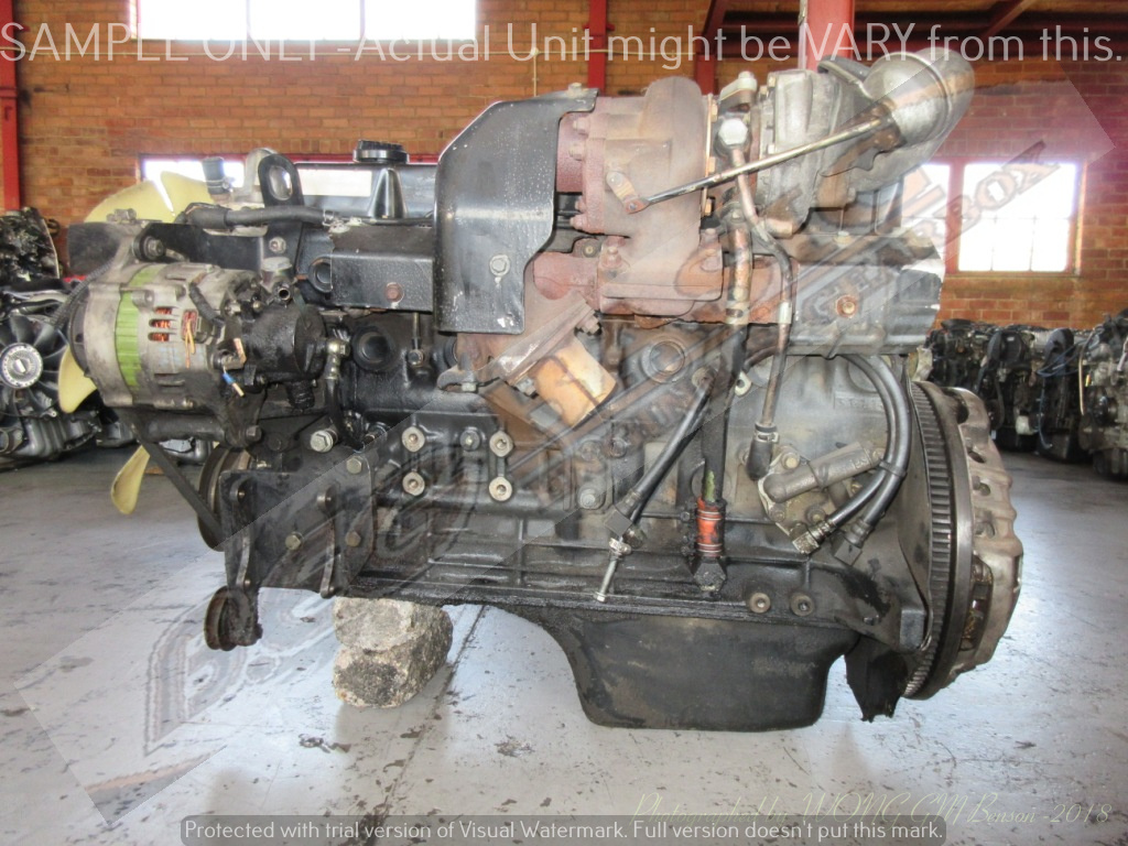 NISSAN CABSTAR -TD42 4 2L TURBO DIESEL Engine | Junk Mail