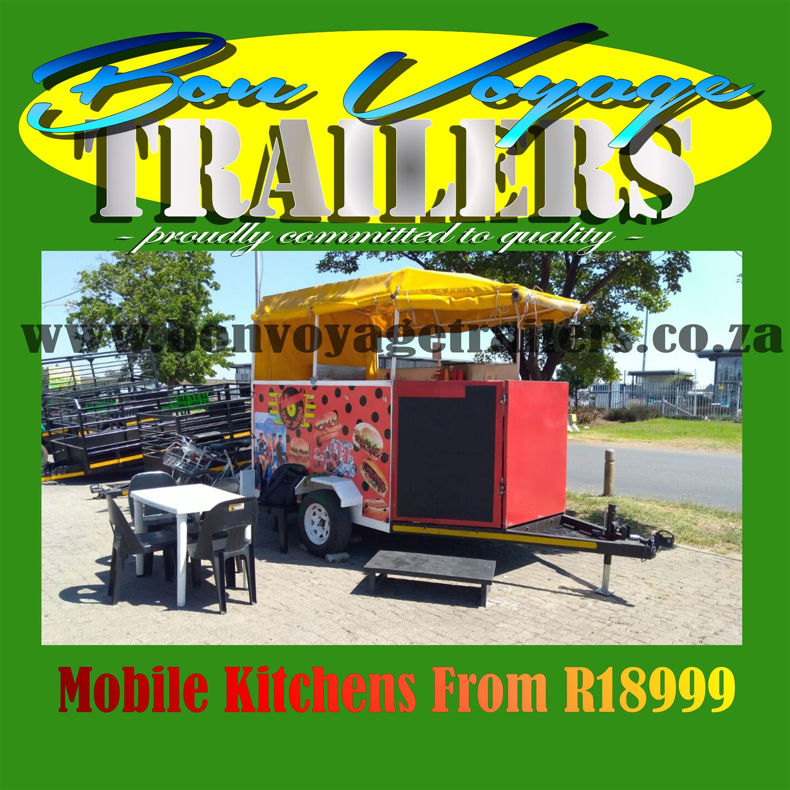 Mobile kitchens from R18999