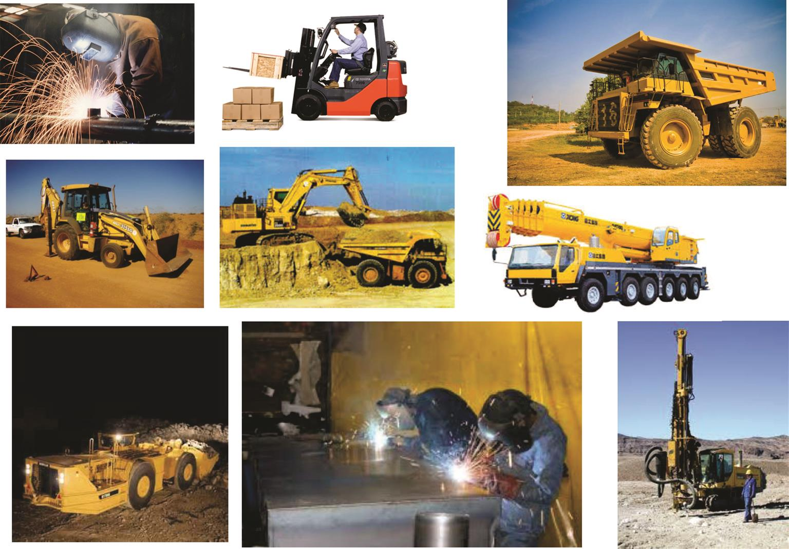 WELDING ROAD ROLLER AND OTHER MACHINE TRAINING.