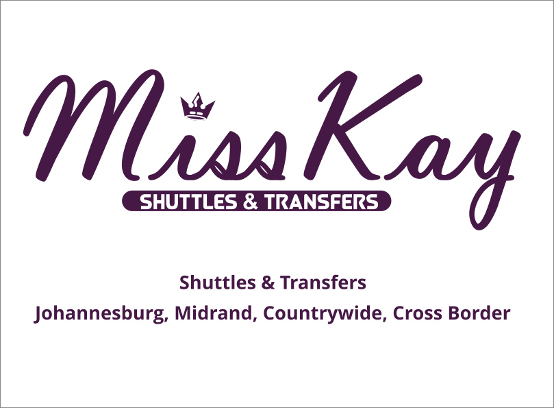 Miss Kay Shuttles and Transfers Services, Jhb, Midrand, RSA and Cross Border
