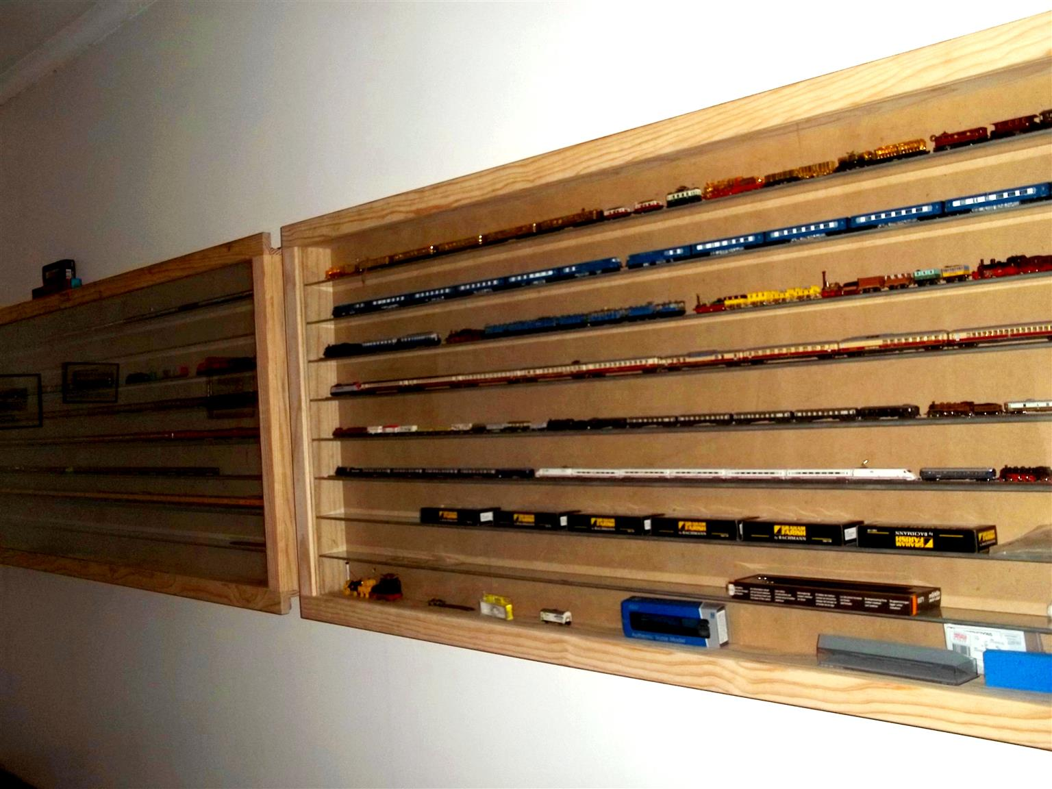 """CABINETS Custom made- """"Display /Show Cabinets for Collectibles, Model cars, Trains etc. Best Prices !"""