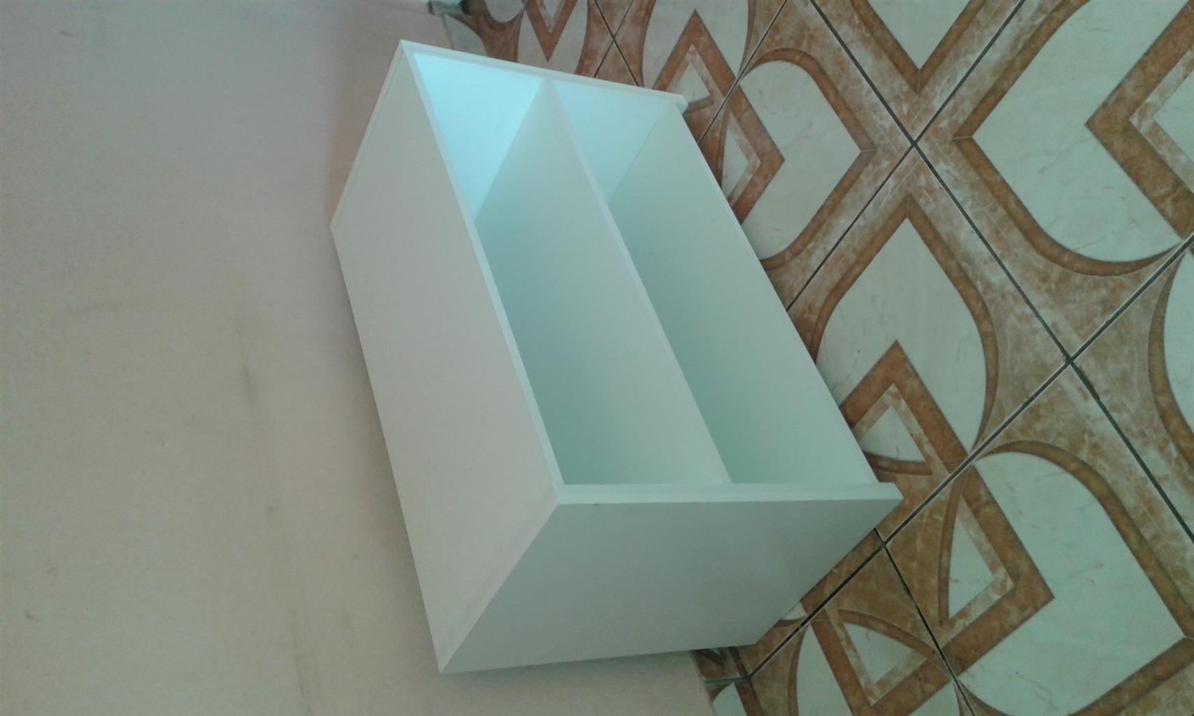 Designer unit pedestal headboard