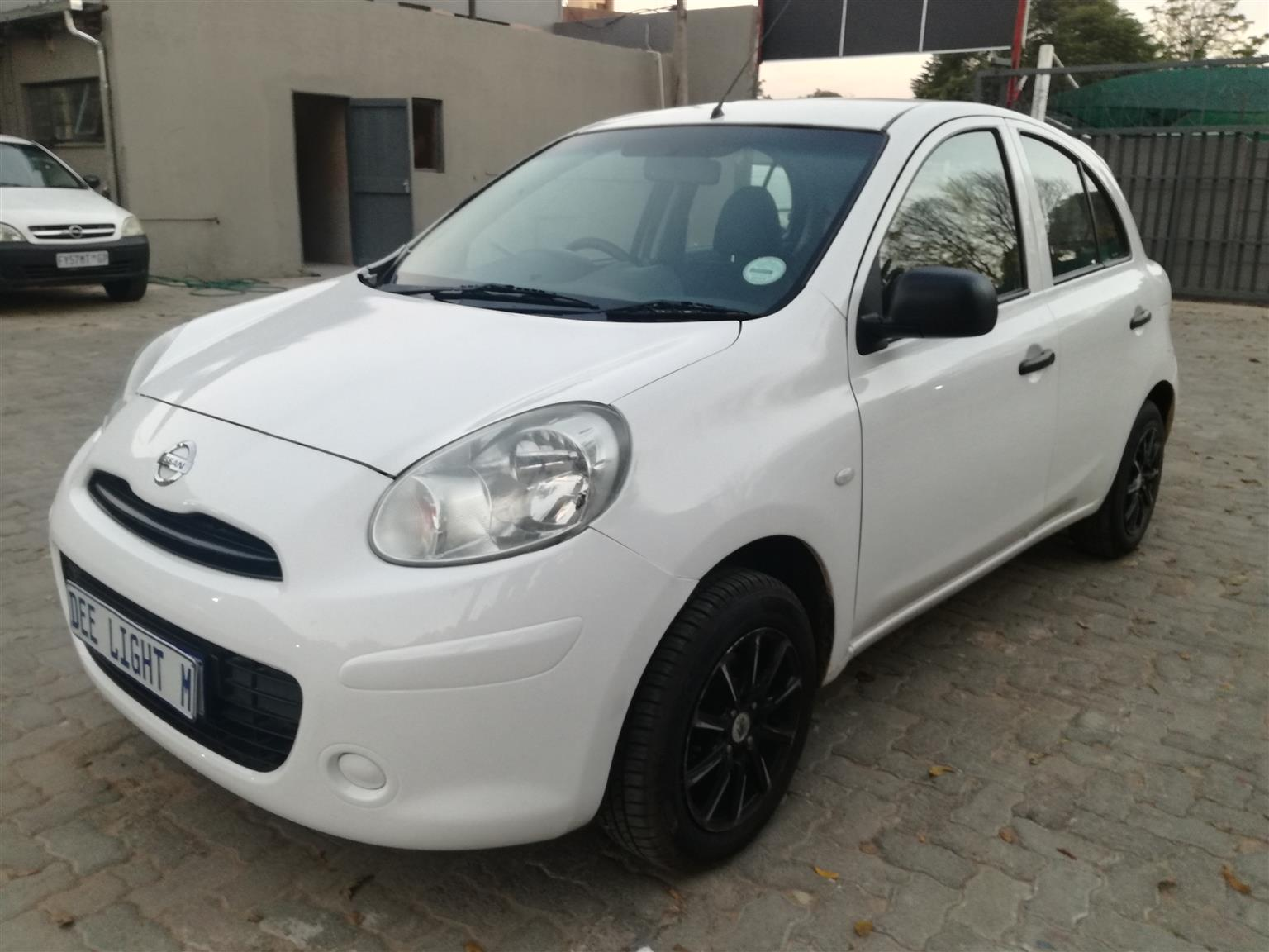 2012 Nissan Micra 1.2 Visia+ (audio)