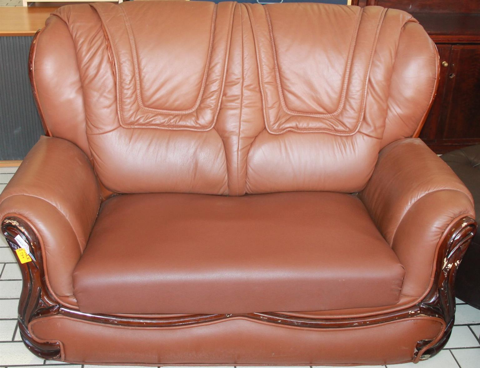 3 Seater couch S026070d #Rosettenvillepawnshop