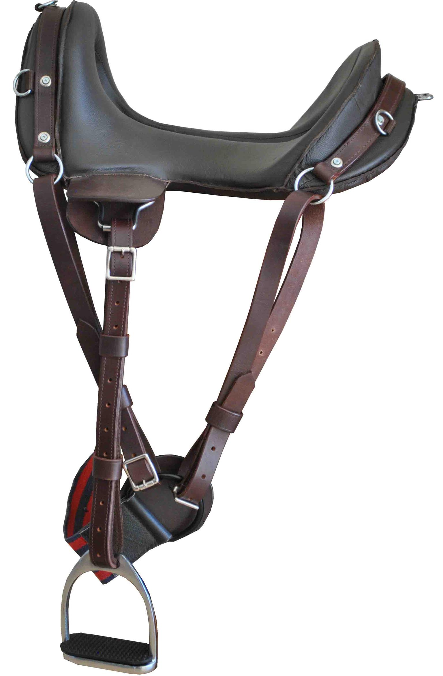 McClellan Saddle complete with stirrups & girth