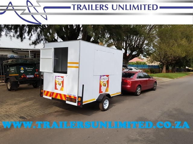 TRAILERS UNLIMITED. MOBILE KITCHENS.