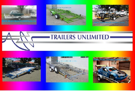 TRAILERS UNLIMITED SINGLE AXLE CAR TRAILERS FROM R19900.00