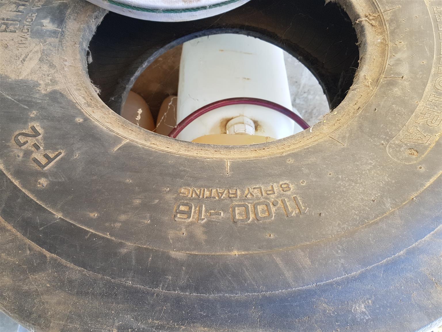 Trekker Band Tractor Tyre