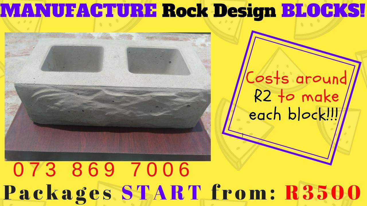 Manufacture BLOCKS