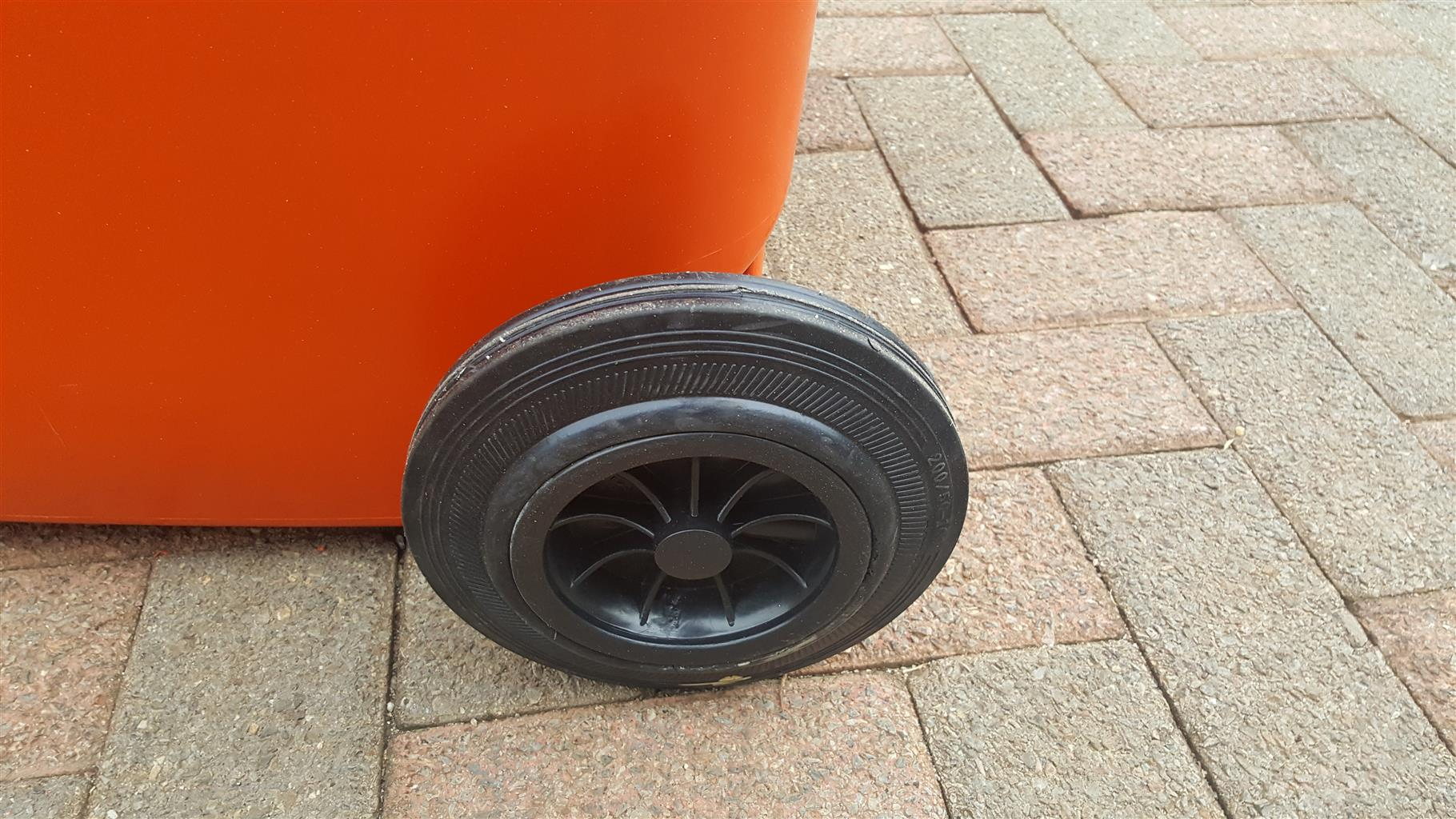 wheels for plastic bins