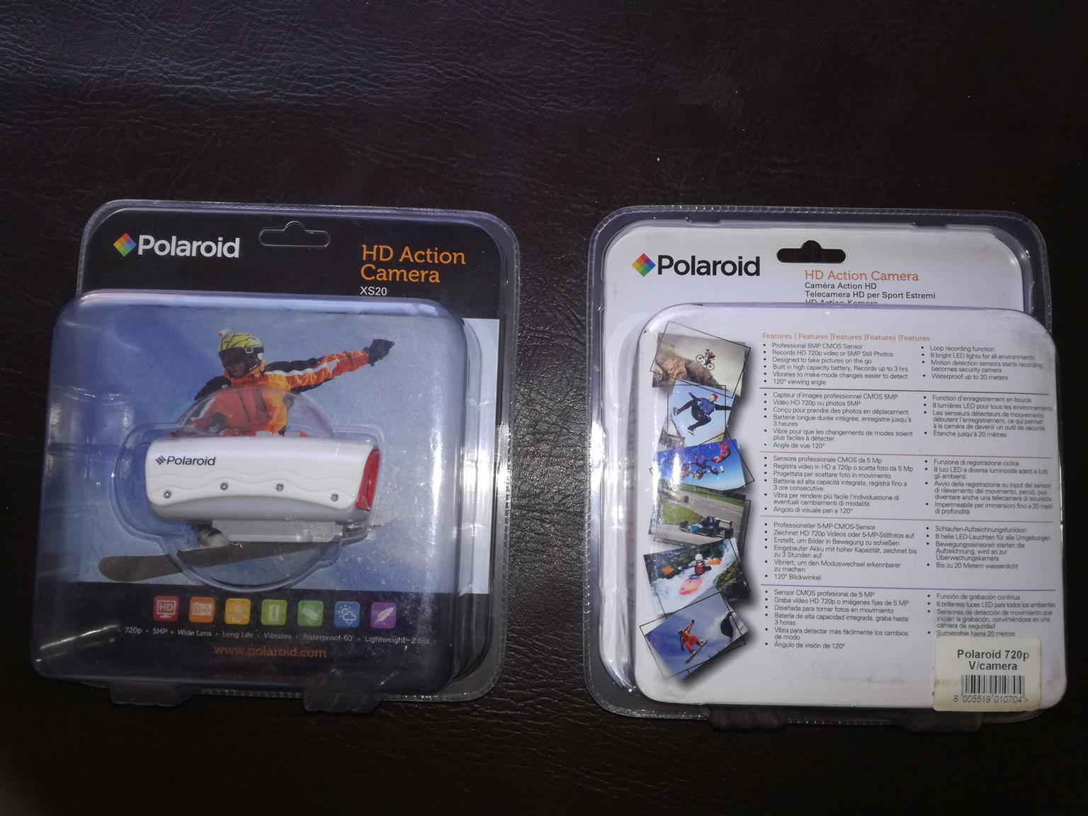 Polaroid HD Action Camera Brand New