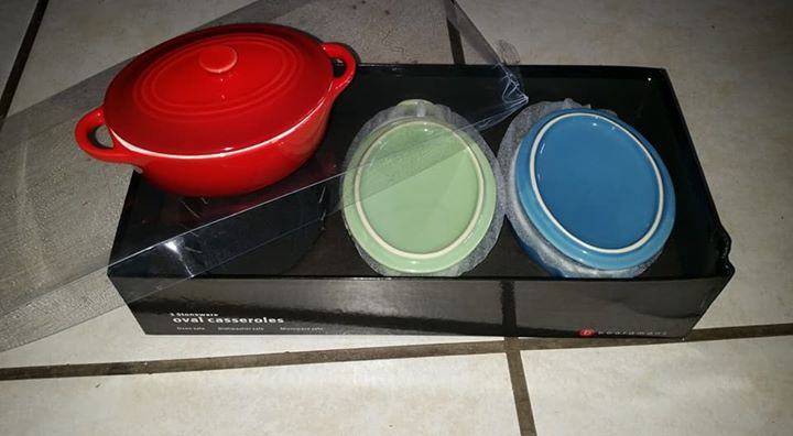 Oval casseroles for sale