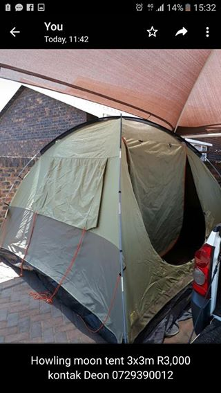 Howling moon strata 2 canvas tent