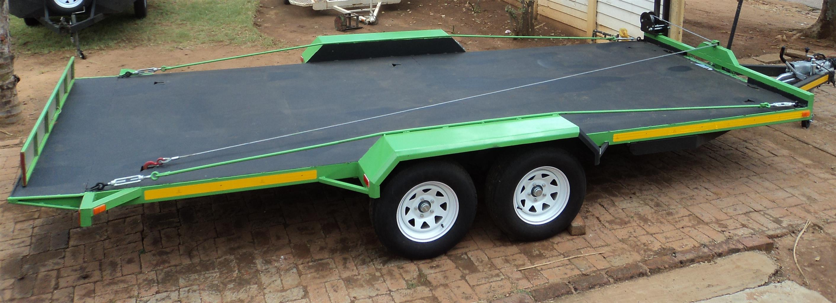 O. ROLL BACK CAR TRAILER. MR