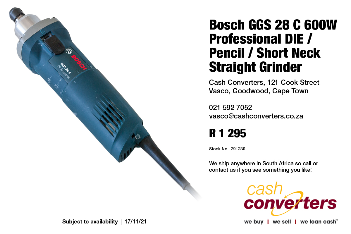 Bosch GGS 28 C 600W Professional DIE / Pencil / Short Neck Straight Grinder