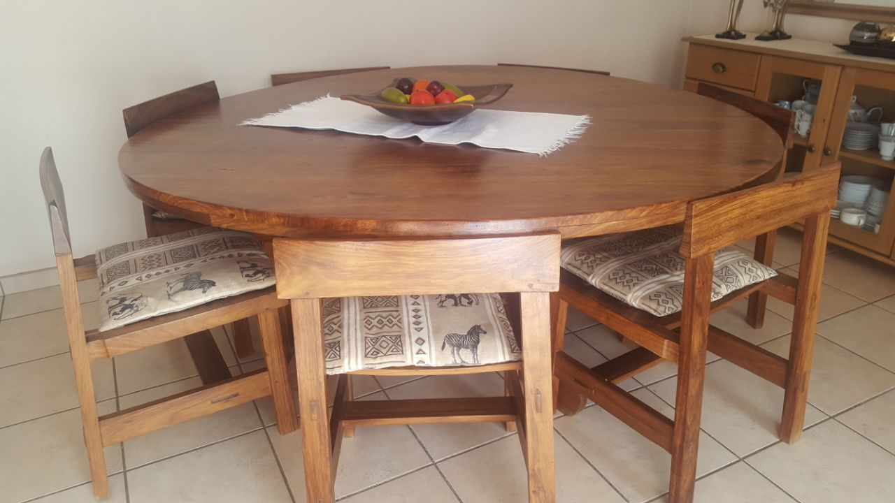 Kiaat Wood Dining Table