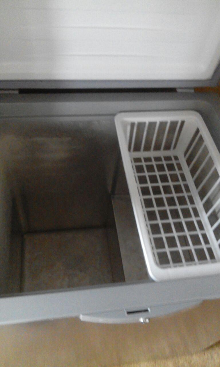 silver defy eco deep freezer 195 liter