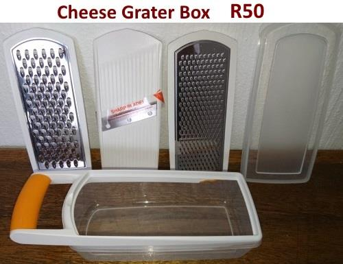 Cheese grater box