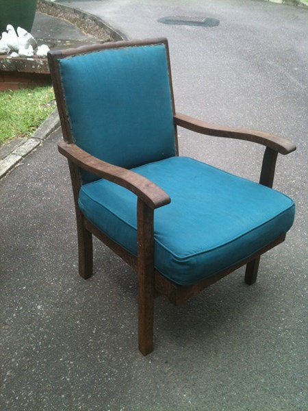 Old Imbuia Chair.