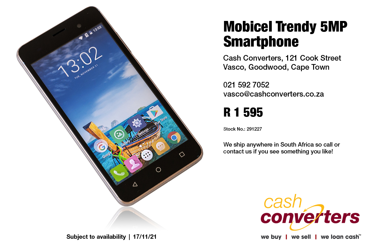 Mobicel Trendy 5MP Smartphone