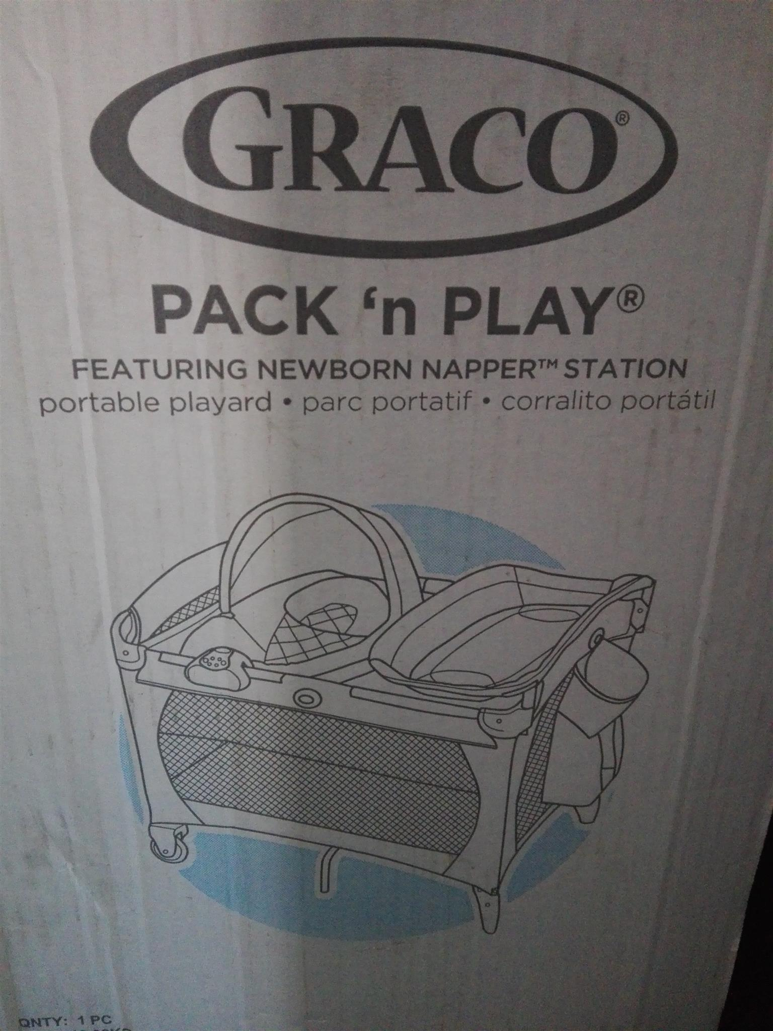 GRACO PACK AND PLAY BRAND NEW BED