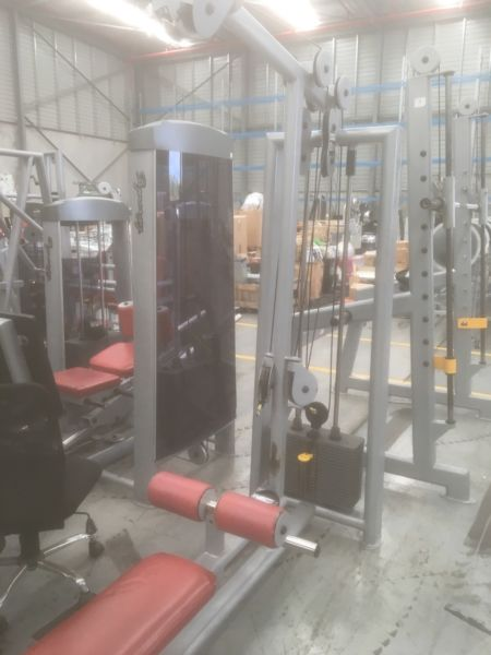 Cal Lat Pull & Seated Row Gym Equipment
