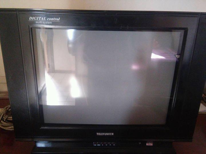 Black telefunken tv for sale