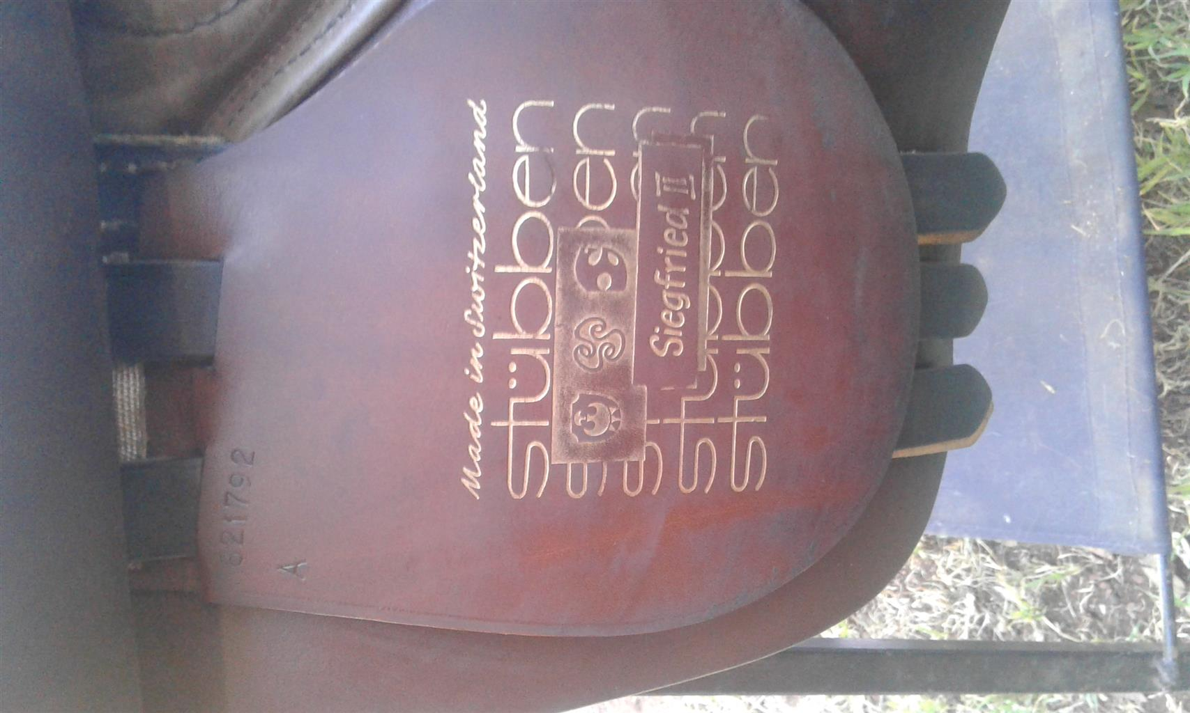 Brown Stubben GP saddle for sale