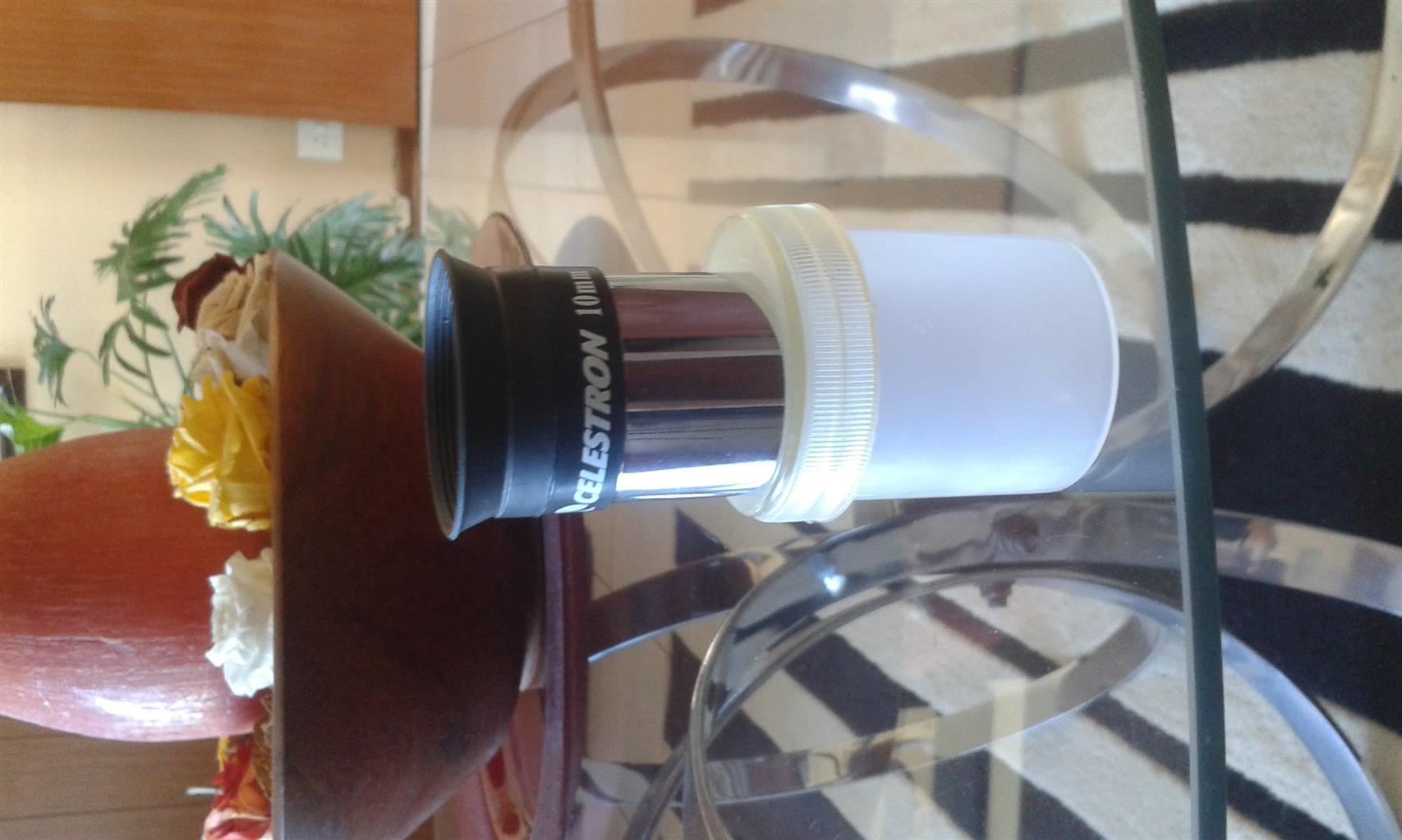 Celestron 10mm lens for telescope