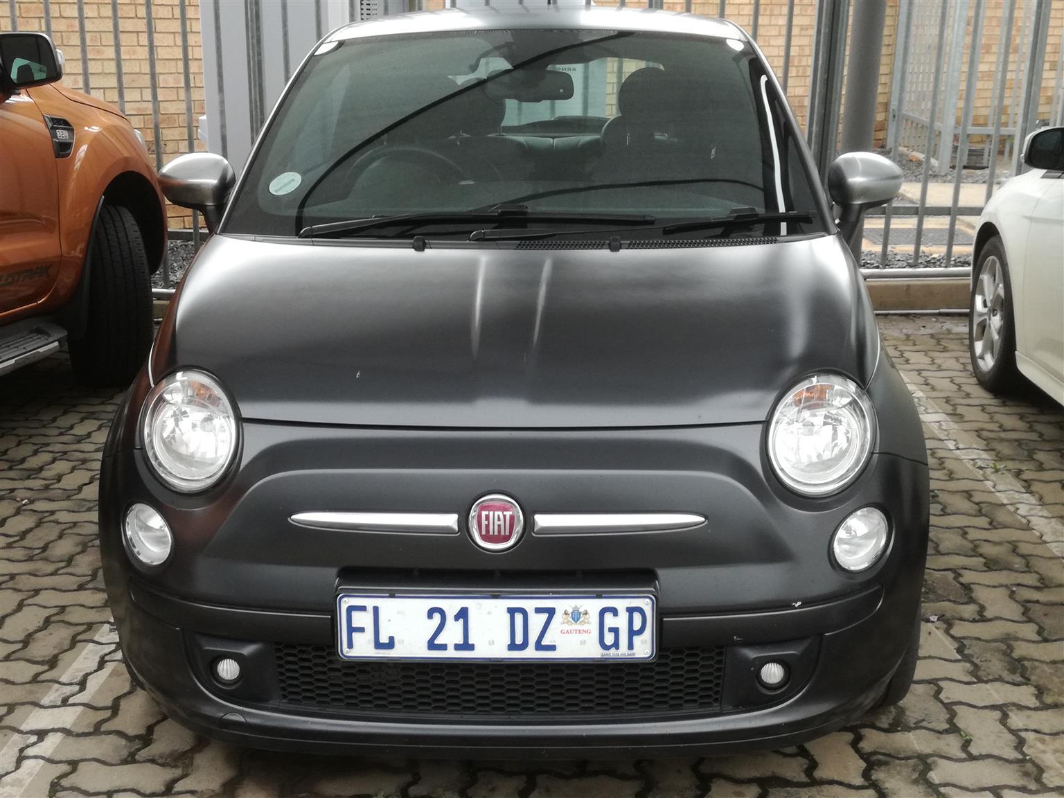 2012 Fiat 500 1.4 Matt Black