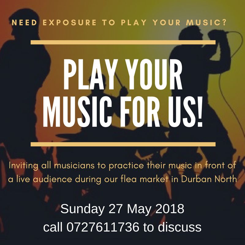 Calling aspiring musicians in Durban North to practice on Sundays