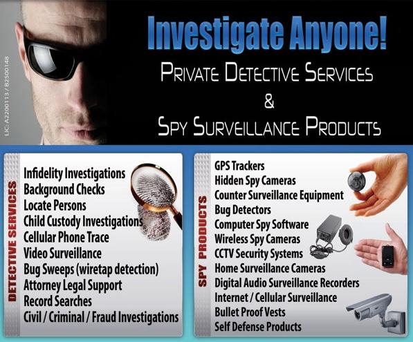 Spouse private investigators