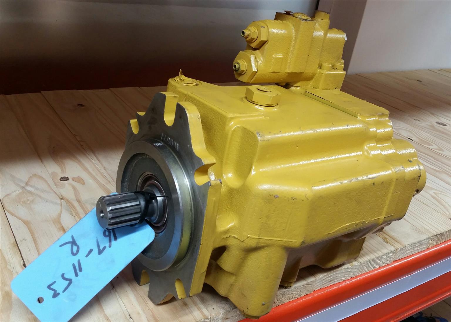 Caterpillar 966 G/G II & 972 G/G II Steering Pump | Junk Mail