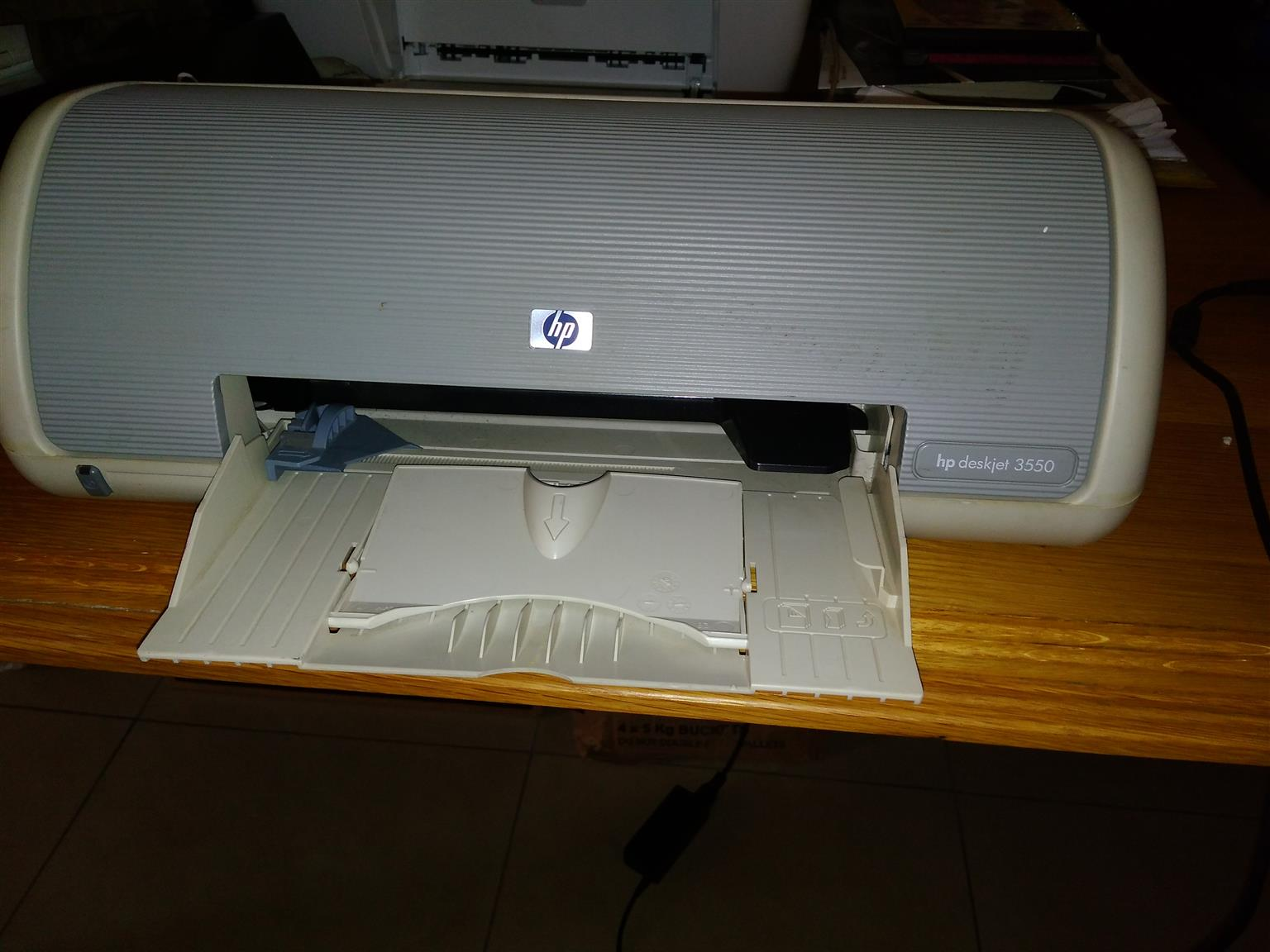 Various desk top printers and computers for sale