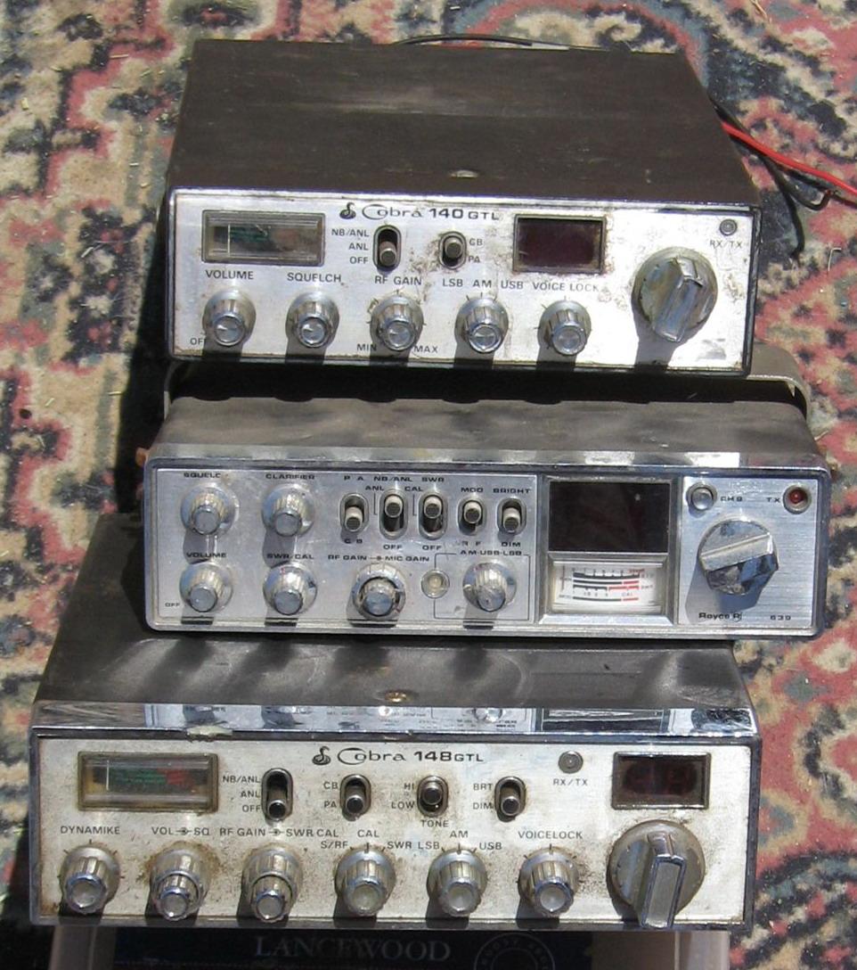 CB radios x 3 40 channels