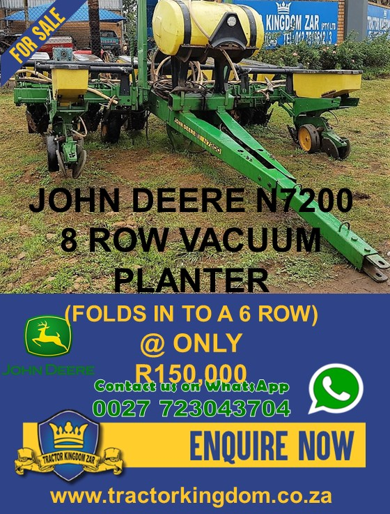 Used John Deere 7200 Planter Junk Mail